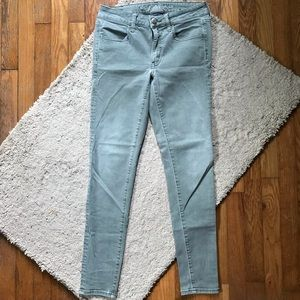 American Eagle sage jeggings
